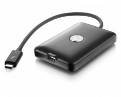 The AKiTiO T3T connects Thunderbolt