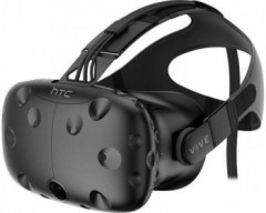 HTC Vive Virtual Reality Headset Inkl. 2x Motion Controller
