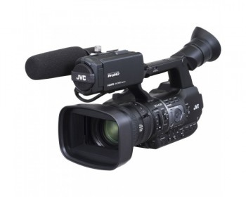 JVC GY-HM660E Handheld HD/SD Camcorder with a 1/3 inch CMOS Sensor and 23x Zoom Lens