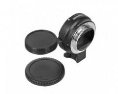 Commlite Auto Focus EF-NEX EF-EMOUNT FX Lens Mount Adapter per Canon EF EF-S Lens a Sony E Mount NEX