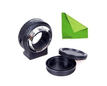 Commlite CM-ENF-E1 Adattatore con AF per Lenti Nikon F a Sony E-Mount