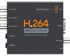 Blackmagic Design - H264 Pro Recorder USB 2.0 Mac/Win