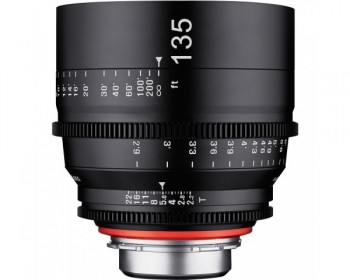 Xeen Obiettivo 135mm T2.2 Cinema 4K per Canon EF Mount