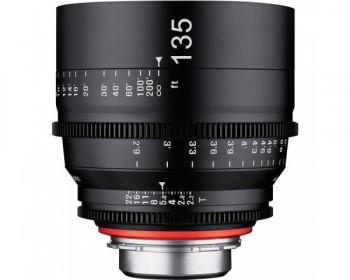 Xeen Obiettivo 135mm T2.2 Cinema 4K per CINE PL Mount