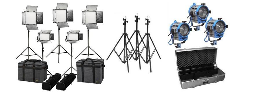 Studio illuminators - Kits