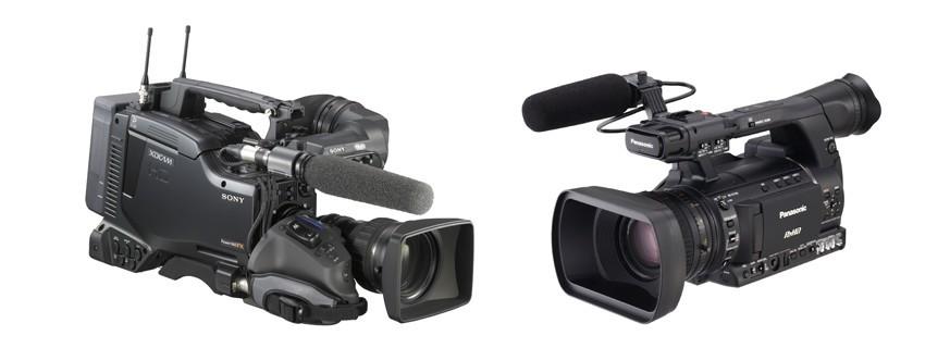 Camcorder HD e UHD 4K