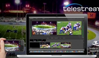 Telestream Wirecast 6 dispositivi supportati, Videocamere USB, Telecamere IP e schede AJA, Blackmagic Design