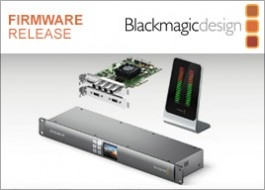 Blackmagic Design Aggiornamento Desktop Video 10.8.2
