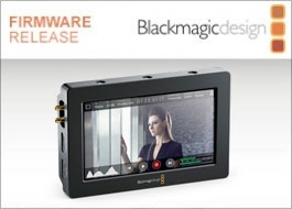 Blackmagic Design Aggiornamento Blackmagic Video Assist 2.2