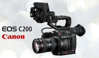 Canon Cinema EOS C200 con 4K RAW Lite