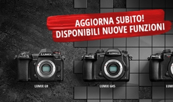 Update now the LUMIX GH5, GH5S and G9 cameras