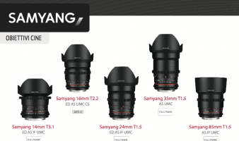 Catalogo Samyang Foto-Video 2015