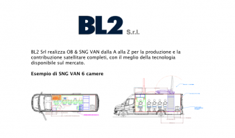 BL2 designs and manufactures mobile media OB & SNG VAN
